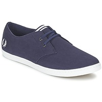 Shoes Men Low top trainers Fred Perry BYRON LOW TWILL Marine
