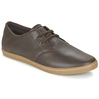 Shoes Men Low top trainers Fred Perry BYRON LOW LEATHER Brown