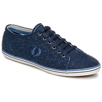 Shoes Men Low top trainers Fred Perry KINGSTON TWEED Marine