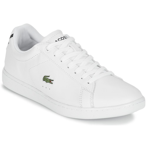 Shoes Women Low top trainers Lacoste CARNABY EVO BL 1 White
