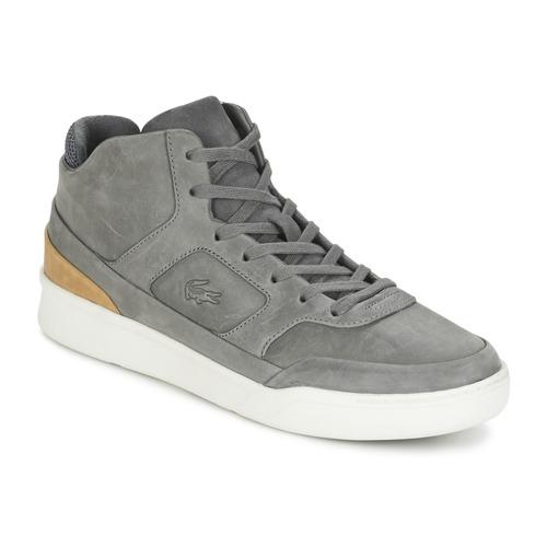 Shoes Men Hi top trainers Lacoste EXPLORATEUR MID 316 2 Grey