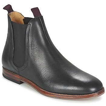 Shoes Men Mid boots Hudson TAMPER CALF  BLACK