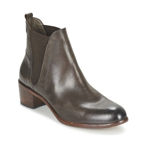 Shoes Women Ankle boots Hudson COMPUND CALF Brown