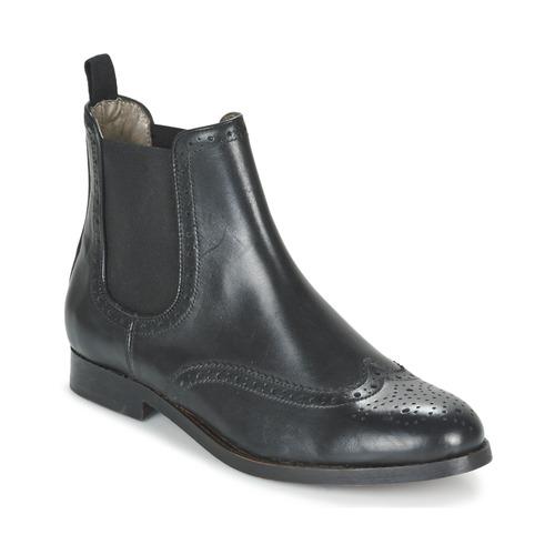 Shoes Women Mid boots Hudson ASTA CALF  black