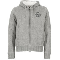 Clothing Men jumpers Schott DUNLIN Grey
