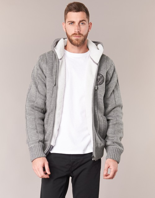 Clothing Men Jumpers Schott DUNLIN Grey