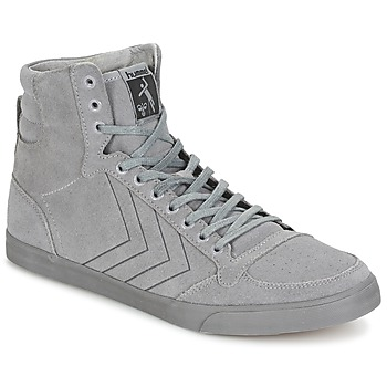 Shoes Hi top trainers Hummel TEN STAR TONAL HIGH Grey