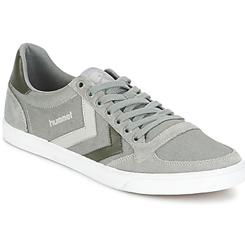 Shoes Low top trainers Hummel TEN STAR DUO CANVAS LOW Grey