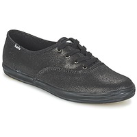 Shoes Women Low top trainers Keds CH METALLIC CANVAS Black