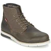 Shoes Men Mid boots Levi's JAX DARK / Brown
