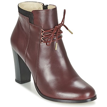Shoes Women Shoe boots M. Moustache EMMA BORDEAUX / Black