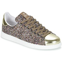 Shoes Women Low top trainers Victoria DEPORTIVO BASKET GLITTER Multicoloured