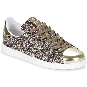Shoes Women Low top trainers Victoria DEPORTIVO BASKET GLITTER Multicolour