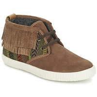 Shoes Women Hi top trainers Victoria SAFARI FLECOS ANTELINA ETNIC Brown