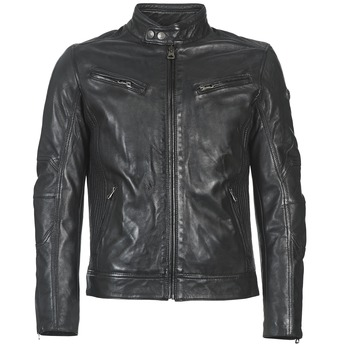 Clothing Men Leather jackets / Imitation leather Redskins LYNCH Black