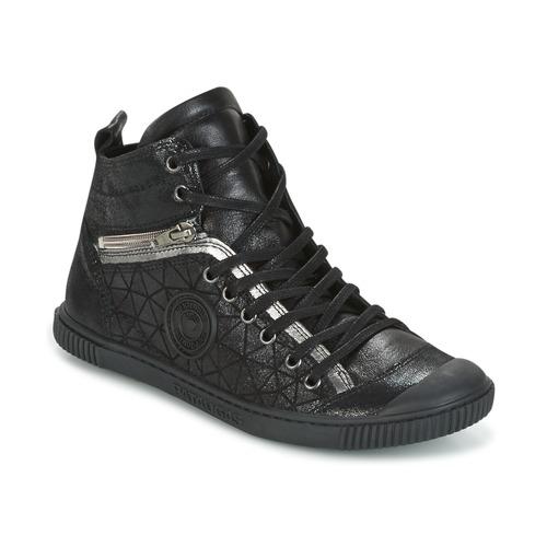Shoes Women Hi top trainers Pataugas BANJOU Black