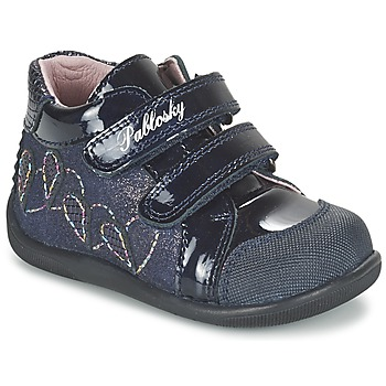 Shoes Girl Hi top trainers Pablosky VANIDELLE MARINE