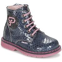 Shoes Girl Mid boots Pablosky CHAVISKA MARINE