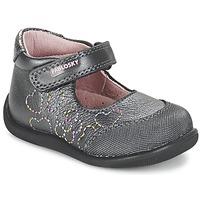 Shoes Girl Flat shoes Pablosky JOUBEK Grey