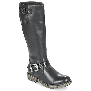 Shoes Women High boots Rieker DAGDA Black