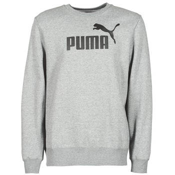 Clothing Men sweatpants Puma ESS CREW SWEAT FL Grey