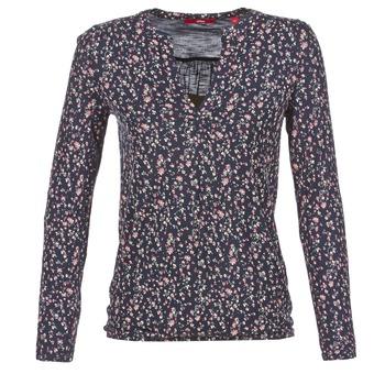 Clothing Women Long sleeved tee-shirts S.Oliver INIATE Marine