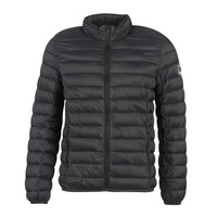 Clothing Men Duffel coats Teddy Smith BLIGHT Black
