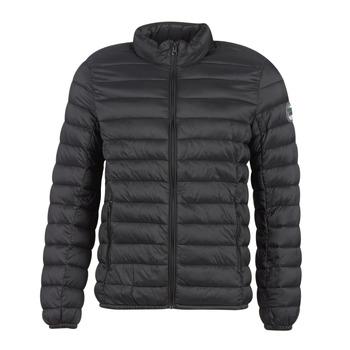 Clothing Men Duffel coats Teddy Smith BLIGHT Black