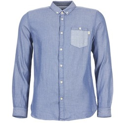 Clothing Men long-sleeved shirts Tom Tailor INIDULLE Blue