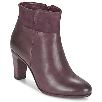 Shoes Women Ankle boots Fred de la Bretoniere NAVAJO Bordeaux