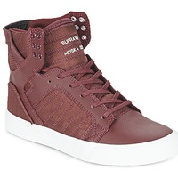 Shoes Hi top trainers Supra SKYTOP Bordeaux