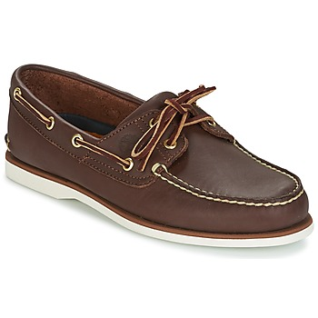 Shoes Men Boat shoes Timberland CLASSIC 2-EYE Dark Brown