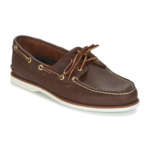 Shoes Men Boat shoes Timberland CLASSIC 2-EYE Brown