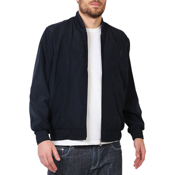 Clothing Men Jackets Krisp Smart Bomber Jacket {Navy} Blue