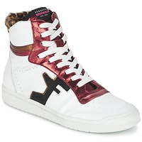 Shoes Women Hi top trainers Serafini SAN DIEGO White / Red
