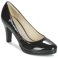 Shoes Women Heels Moony Mood FEROU Black / VARNISH