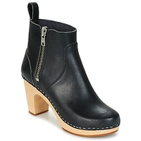 Ankle boots Swedish hasbeens ZIP IT SUPER HIGH