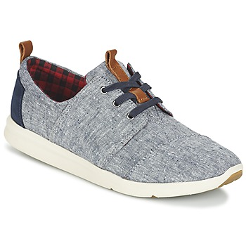 Shoes Women Low top trainers Toms DEL REY Blue