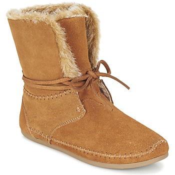 Shoes Women Mid boots Toms ZAHARA Brown