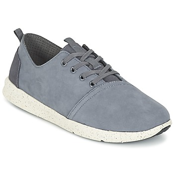 Shoes Men Low top trainers Toms DEL REY Grey