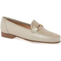 Shoes Women Loafers Charles Clinkard Charm Womens Moccasins BEIGE
