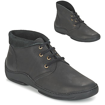 Shoes Women Mid boots Arcus MOKALA Black
