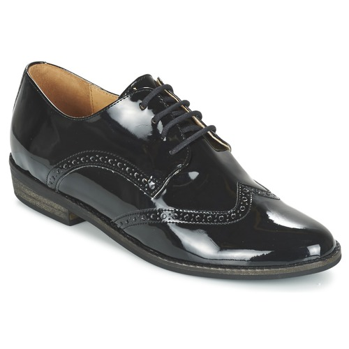 Shoes Women Derby Shoes So Size SINT CHAROL Black