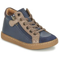 Shoes Children Hi top trainers Shoo Pom PLAY HIBI ZIP MARINE / TAUPE