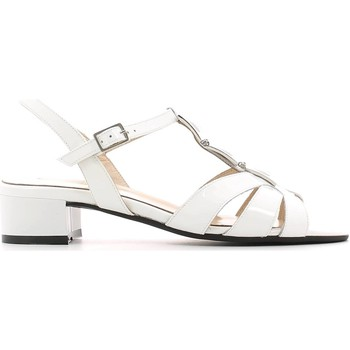 Shoes Women Sandals Grace Shoes E6473 High heeled sandals Women Bianco Bianco