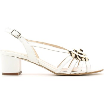 Shoes Women Sandals Grace Shoes E6482 High heeled sandals Women White White