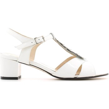 Shoes Women Sandals Grace Shoes E6483 High heeled sandals Women White White