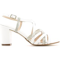 Shoes Women Sandals Grace Shoes E6491 High heeled sandals Women Bianco Bianco
