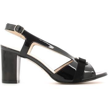 Shoes Women Sandals Grace Shoes E6493 High heeled sandals Women Black Black