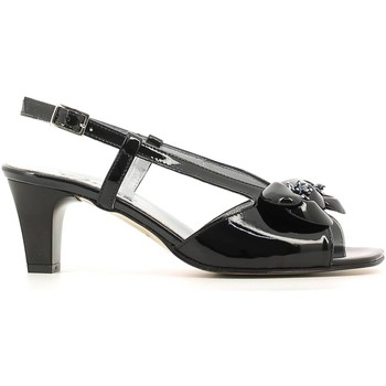 Shoes Women Sandals Grace Shoes E6530 High heeled sandals Women Black Black